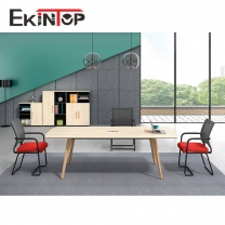 Wood office meeting table manufacturers in office furniture from Ekintop